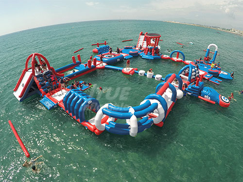 Aquapark Inflatable Floating Water Park For Adult